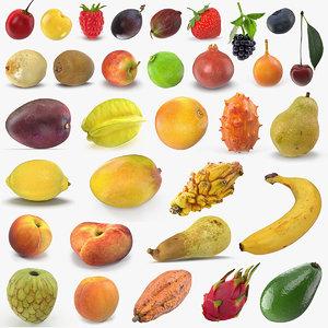 fruits 6 3D model