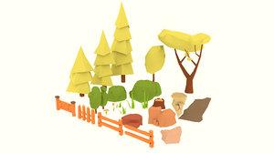 nature polys 3D model