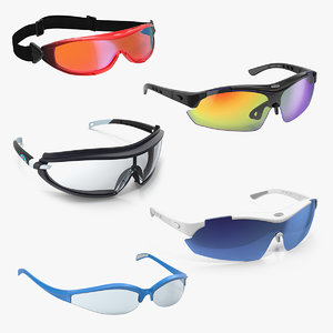 3D sport glasses 3