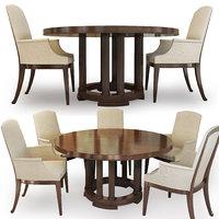 dining table century bridgeton model
