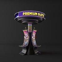money slot machine 3D