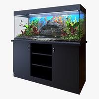 aquarium animations 3D model