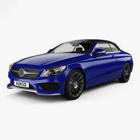 Mercedes-Benz C-class (A205) convertible AMG line 2016