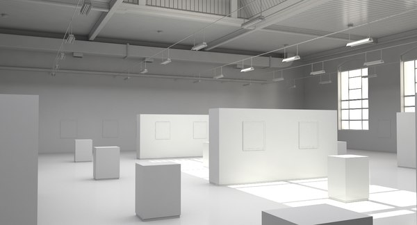 3D industrial art gallery ut