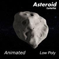 asteroid lutetia model
