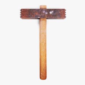 3D hammer 1