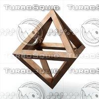 3D octaedron epipedon cenon model