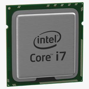 intel i7 cpu 3D