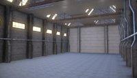Industrial Warehouse interior Showroom