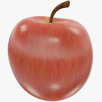 red apple 3D