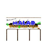 malad sign 3D model
