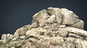 3D mountain rocks 7