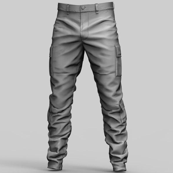 cargo pants 3D model