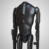 robot star wars : 3D model