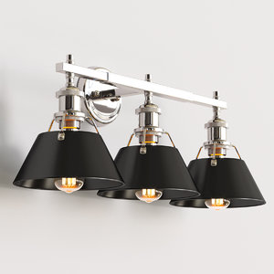 vanity lights truncated cone model