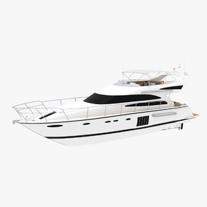 princess 64 yacht model