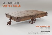 Mining Cart Coffee Table