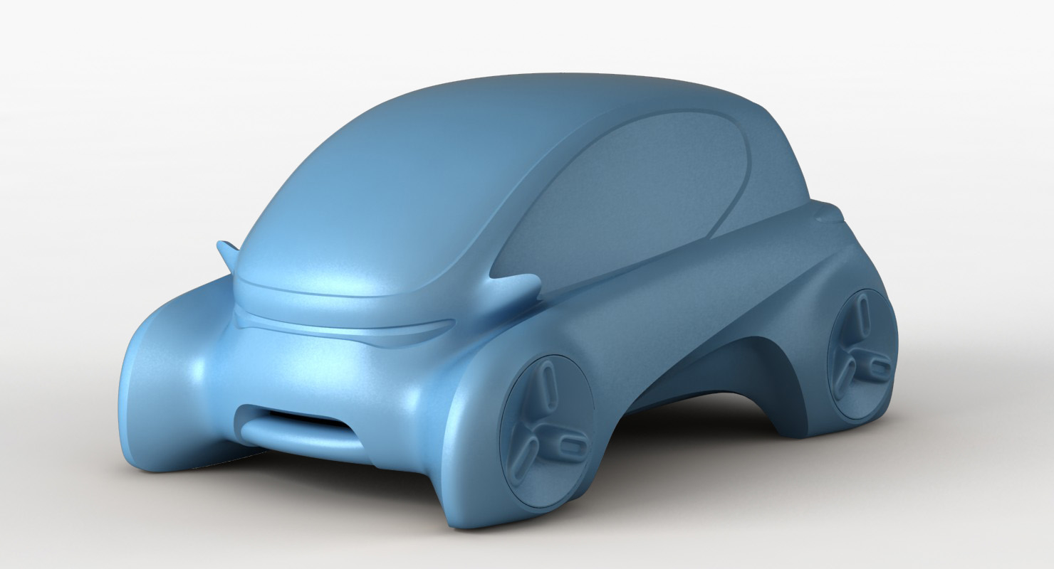 3D ev car printing