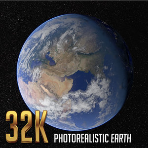 earth cloud 3D