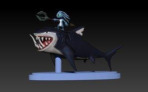 fizz chompers lol 3D