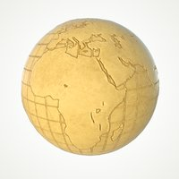 3D maps earth globe world model