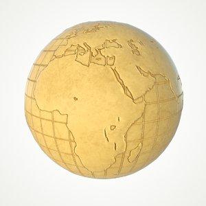 3D maps earth globe world model