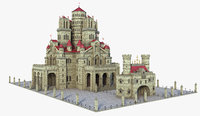 Large Medieval Castle V3
