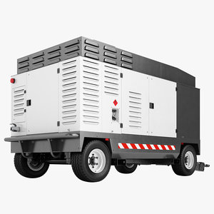 3D portable compressor diesel
