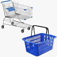 3D real shopping carts