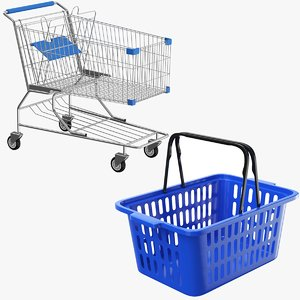 3D real shopping carts