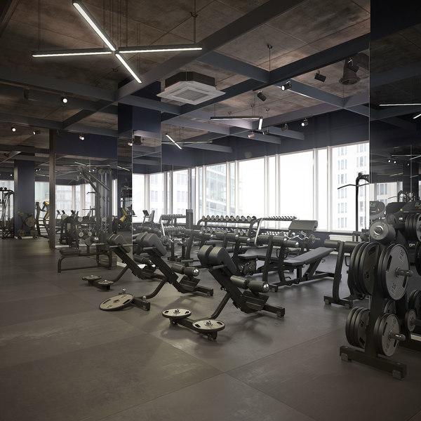 gym exercise machine model