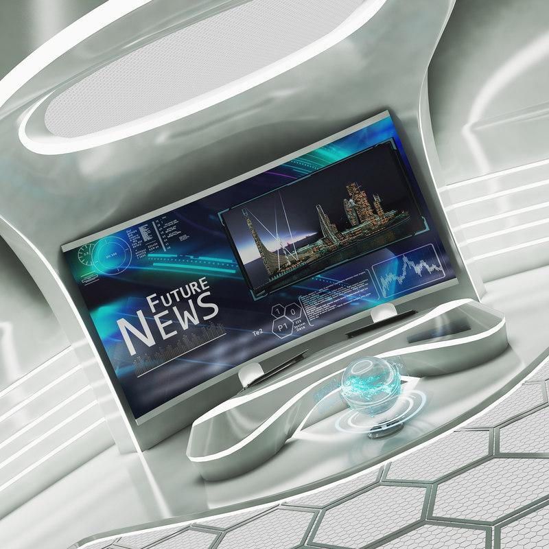tv studio 3D