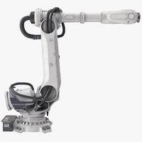 heavy robotic arm 3D model