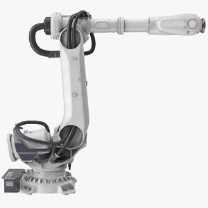 heavy robotic arm 3D model