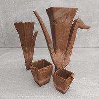 ceramic set 3D model