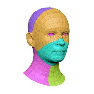 head base model