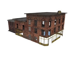 buildings games 3D model