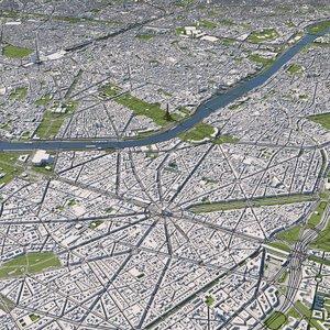 paris city model