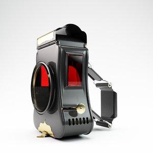 3D acetylene lamp miller s