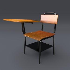 school chair model