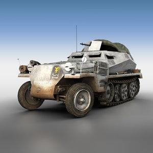 3D sd kfz 250 1