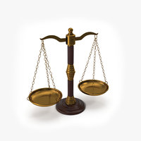 law scales 3D