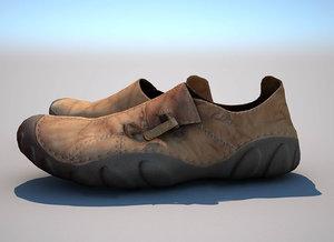 3D realistic shoes - model