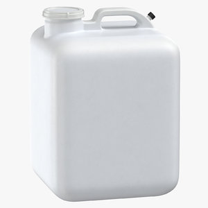 3D water container 02