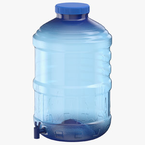 water container 03 3D