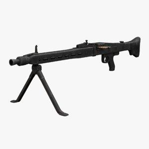 rheinmetall mg 3 machine gun model