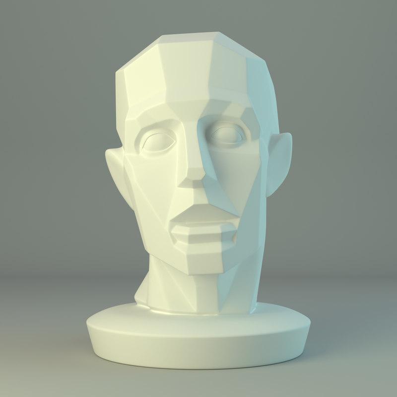 plane head 3D model