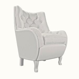 armchair epoque unique 3D