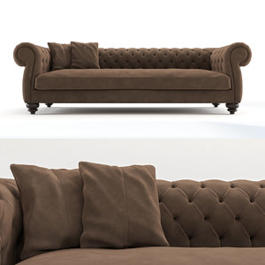 sofa dv home 3D model