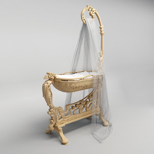 medea liberty cradle 3D model